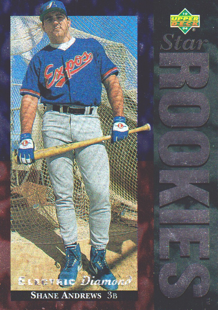 1994 Upper Deck Electric Diamond #2 Shane Andrews