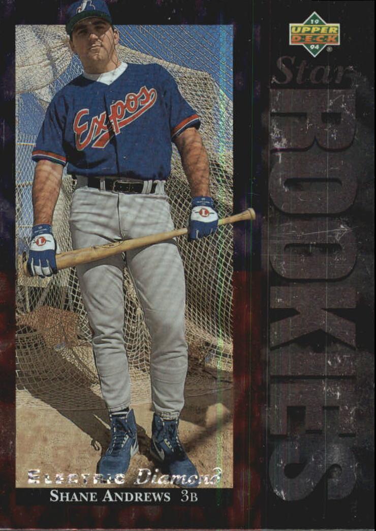 1994 Upper Deck Electric Diamond #2 Shane Andrews