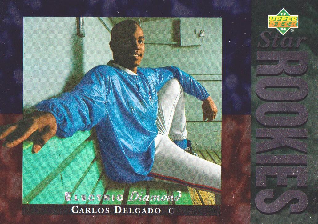 1994 Upper Deck Electric Diamond #8 Carlos Delgado