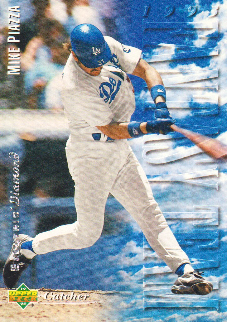 1994 Upper Deck Electric Diamond #33 Mike Piazza FT