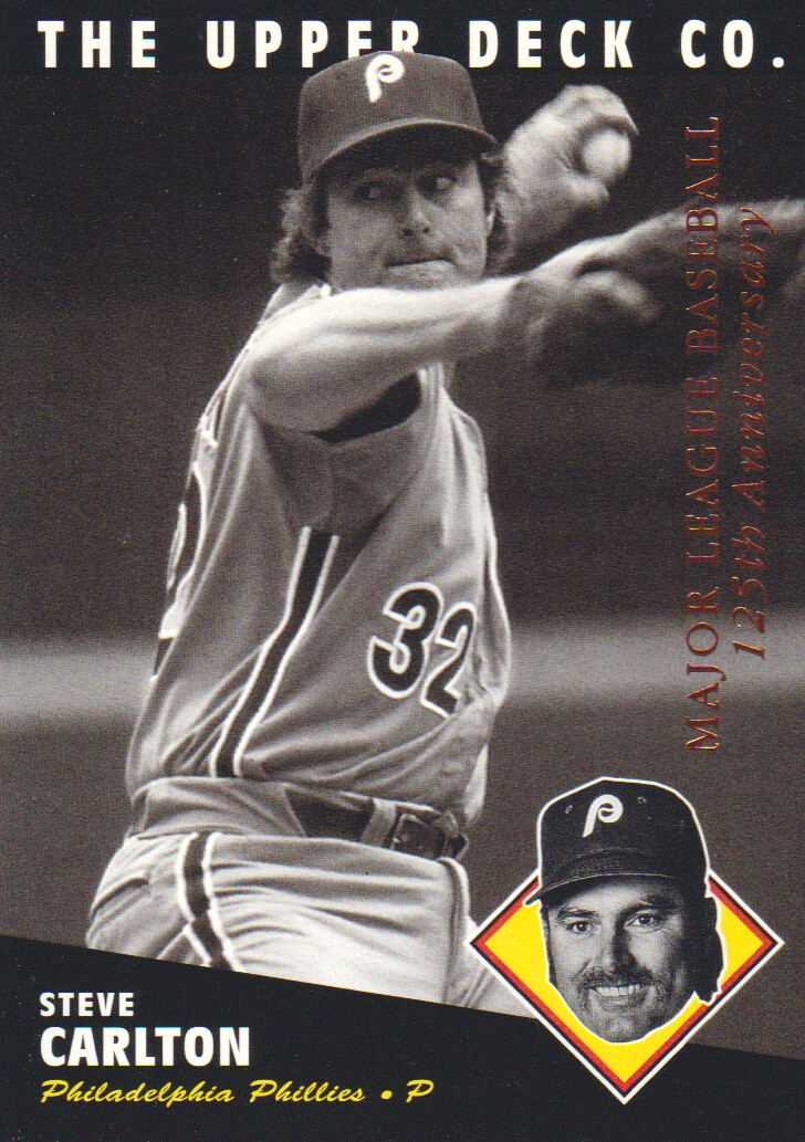 1994 Upper Deck All-Time Heroes 125th Anniversary #70 Steve Carlton