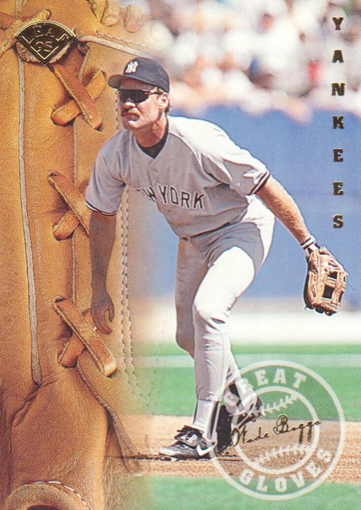 1995 Leaf Great Gloves #4 Wade Boggs