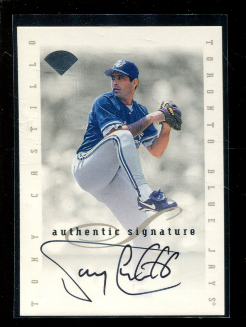 1996 Leaf Signature Extended Autographs #27 Tony Castillo