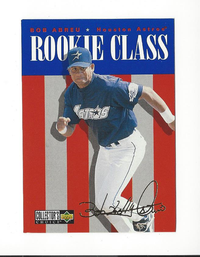 1996 Collector's Choice Gold Signature #450 Bob Abreu