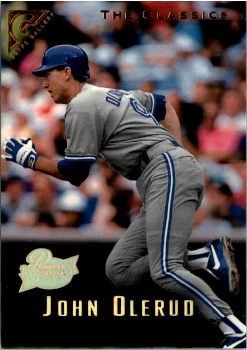 1996 Topps Gallery Players Private Issue #87 John Olerud