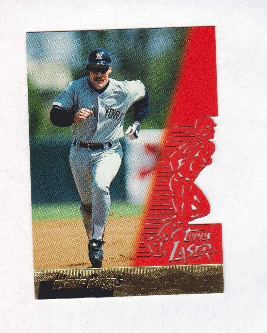 1996 Topps Laser #36 Wade Boggs