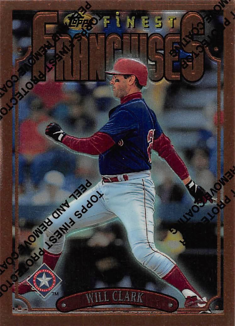 1996 Finest #B193 Will Clark B
