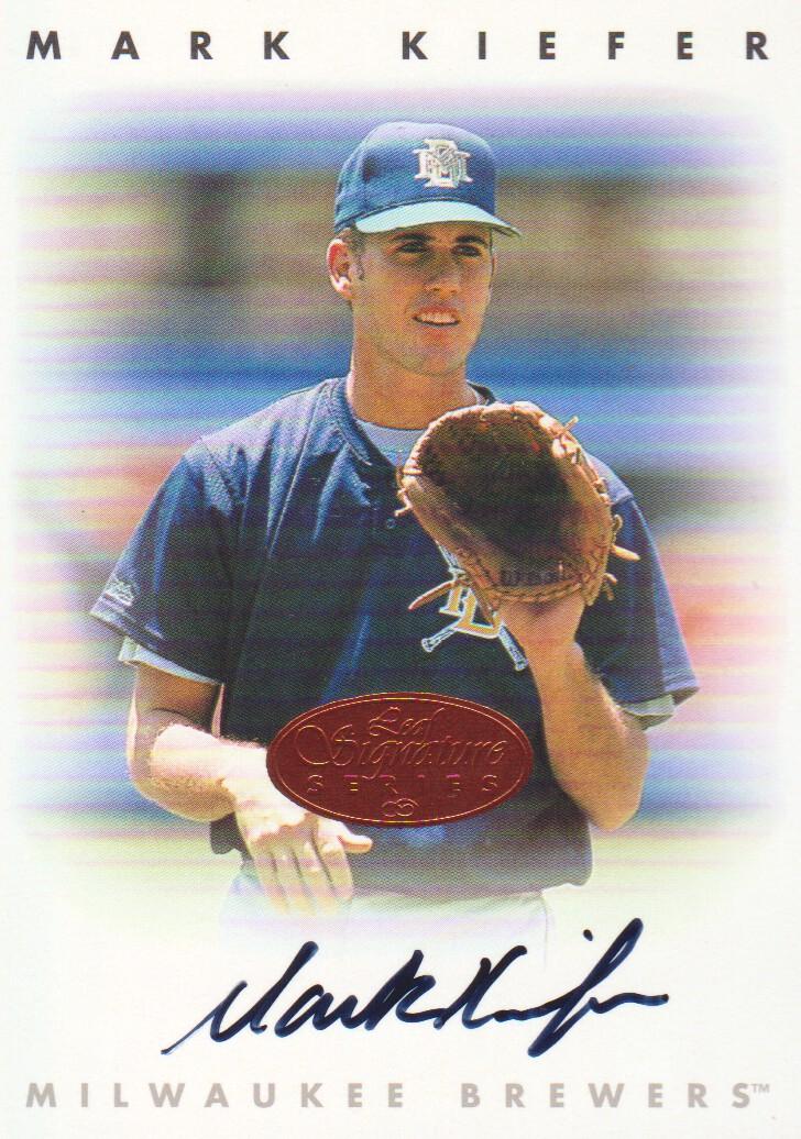 1996 Leaf Signature Autographs #126 Mark Kiefer