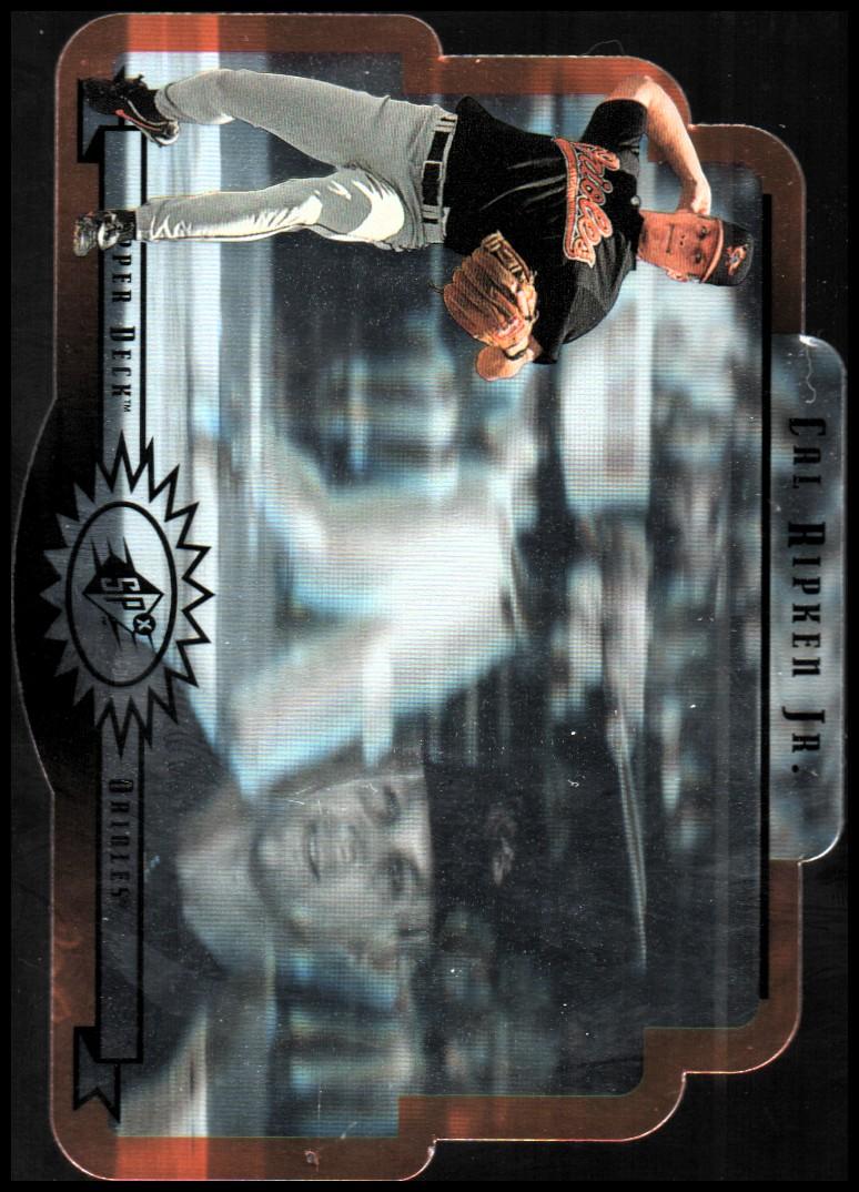 1996 SPx Gold #5 Cal Ripken
