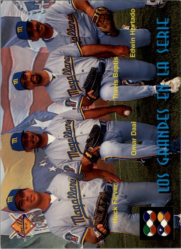 1996-97 Lineup Venezuela #274 Huck Flener/Omar Daal/Travis Baptist/Edwin Hurt
