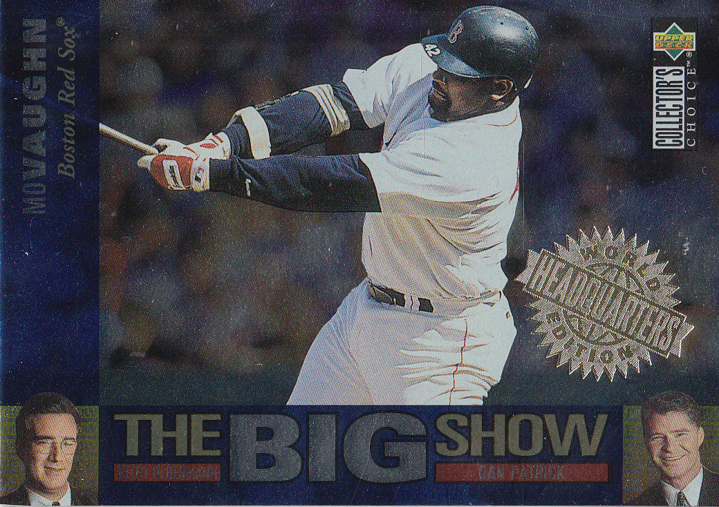 Details About 1997 Collectors Choice The Big Show World Headquarters Card 11 Mo Vaughn