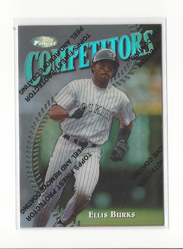 1997 Finest Refractors #290 Ellis Burks S