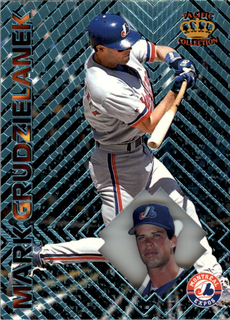 1997 Pacific Prisms Light Blue #118 Mark Grudzielanek