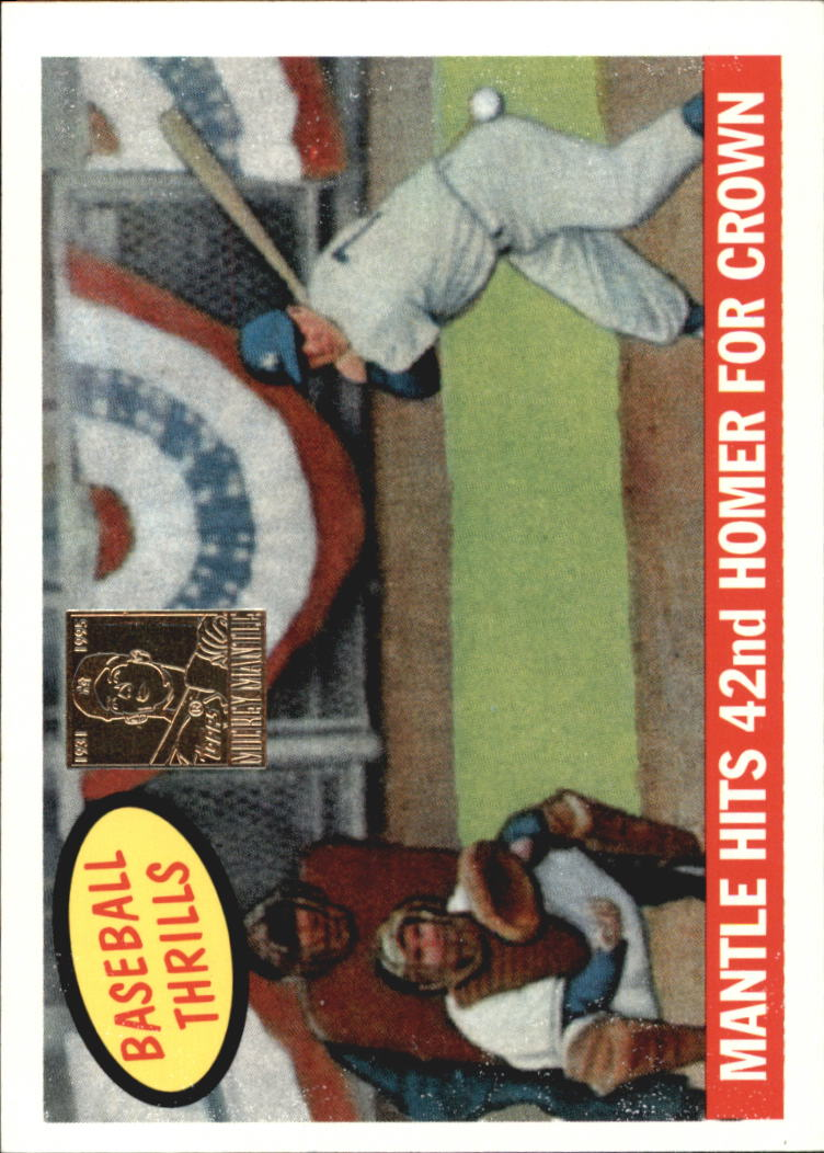 1997 Topps Mantle #26 Mickey Mantle/1959 Topps HL