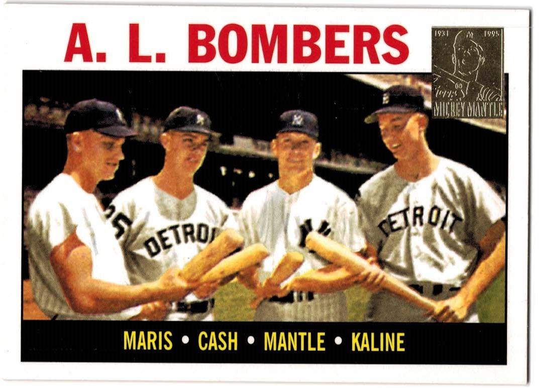 1997 Topps Mantle #36 Mickey Mantle/1964 Topps w/Maris-Kaline-Cash