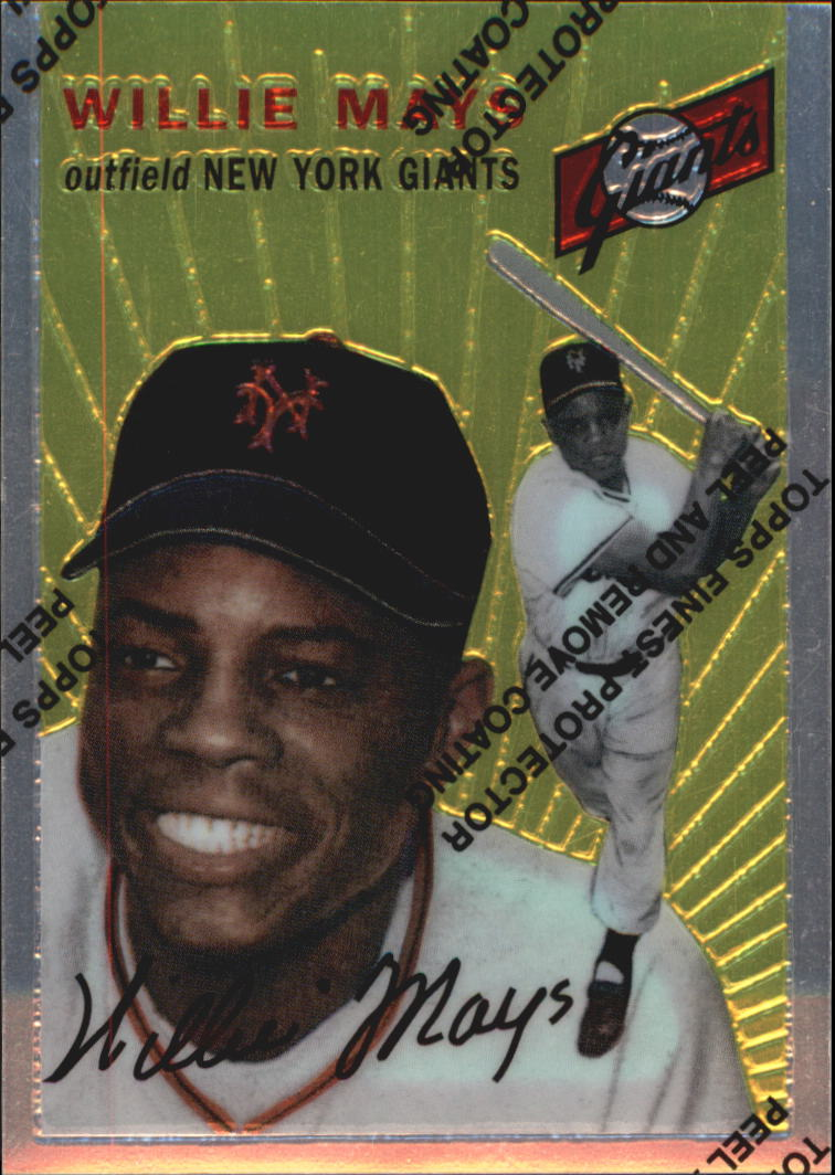 1997 Topps Mays Finest #5 Willie Mays