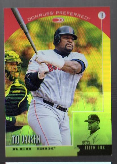 1998 Donruss Prized Collections Preferred #573 Mo Vaughn FB