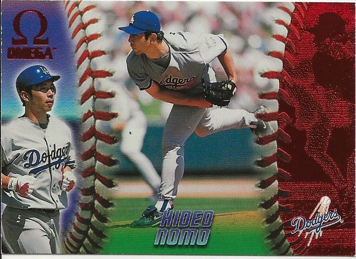 1998 Pacific Omega Red #127 Hideo Nomo