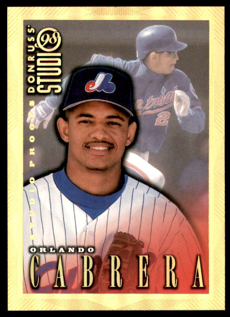 1998 Studio Gold Press Proofs #66 Orlando Cabrera