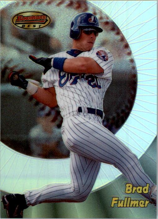 1998 Bowman's Best Refractors #112 Brad Fullmer