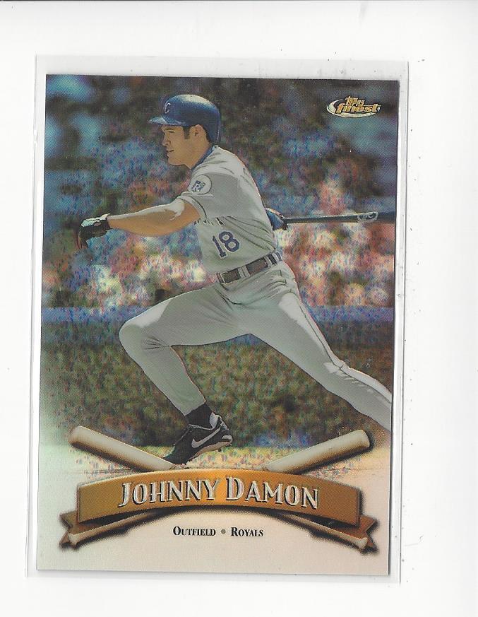 1998 Finest No-Protectors Refractors #144 Johnny Damon