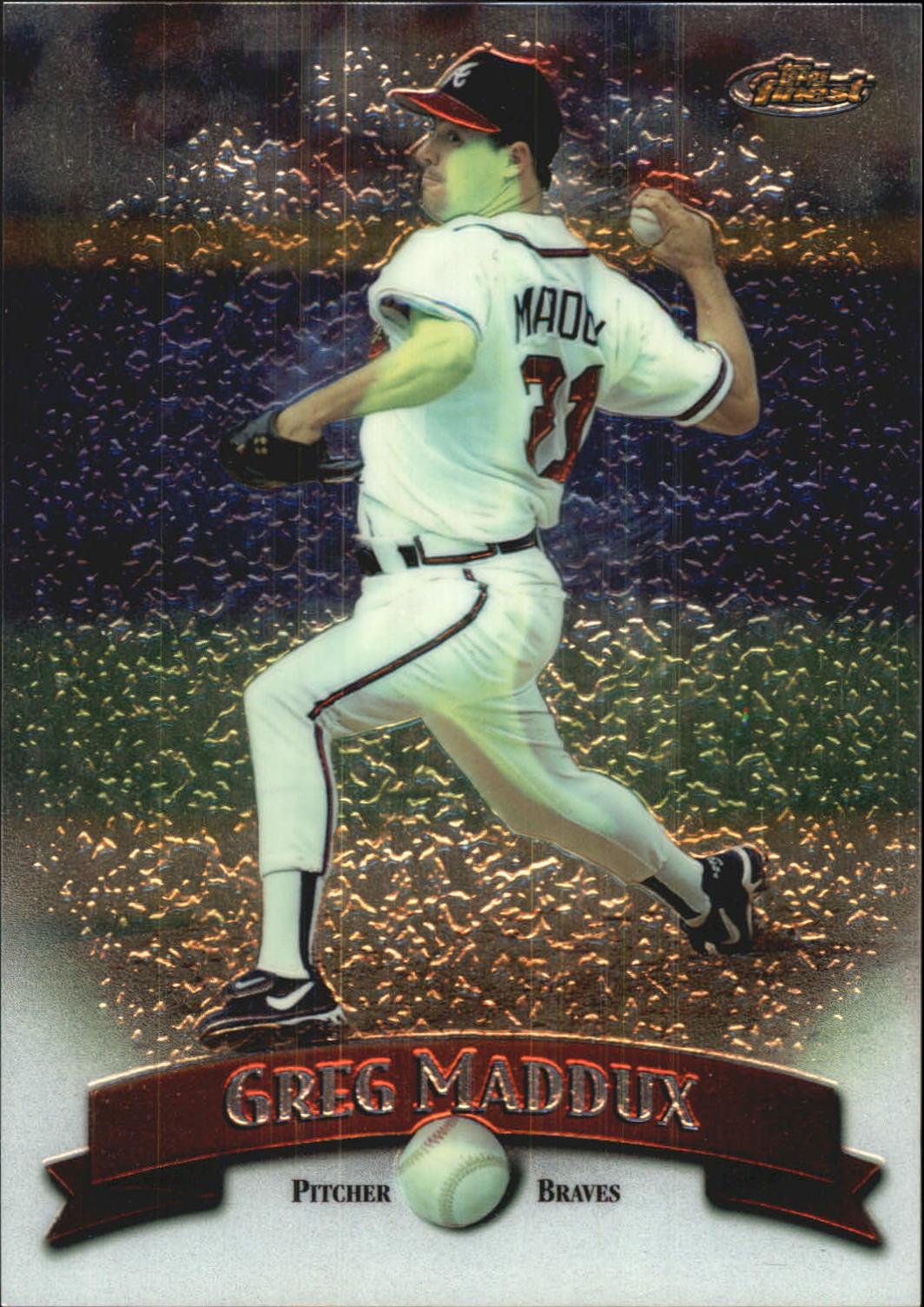 1998 Finest Oversize #A5 Greg Maddux