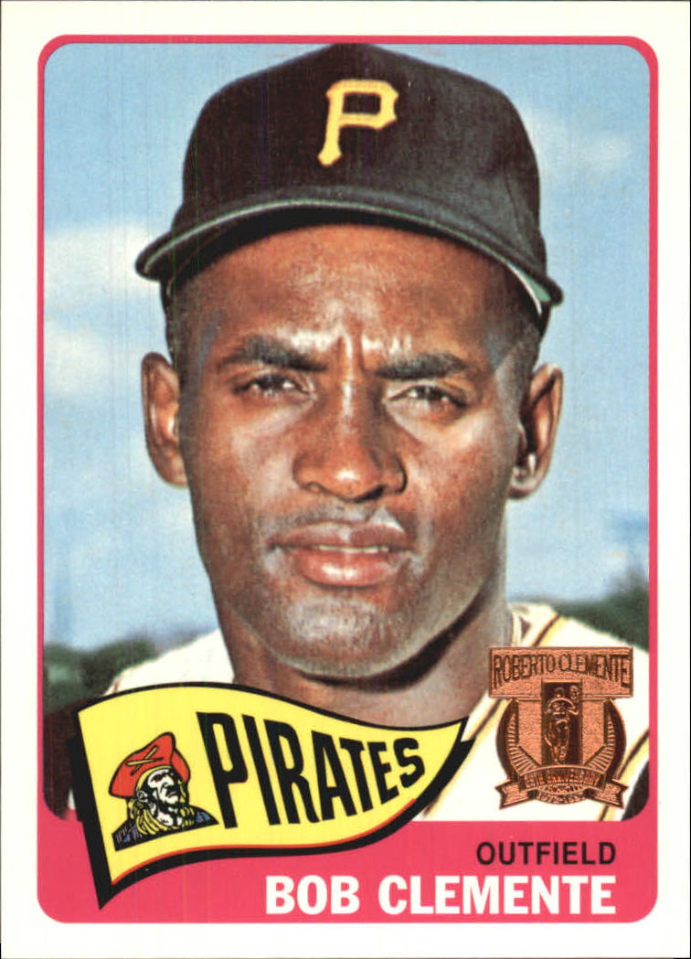 1998 Topps Clemente #11 Roberto Clemente 1965