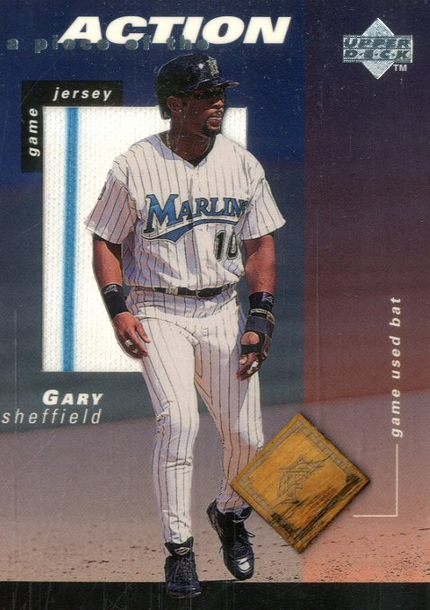 1998 Upper Deck A Piece of the Action 2 #GS Gary Sheffield