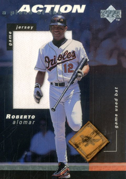 1998 Upper Deck A Piece of the Action 2 #RA Roberto Alomar