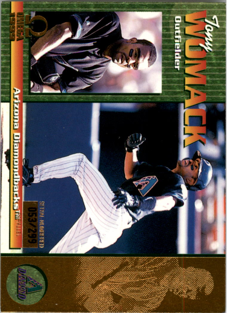 1999 Pacific Omega Gold #17 Tony Womack