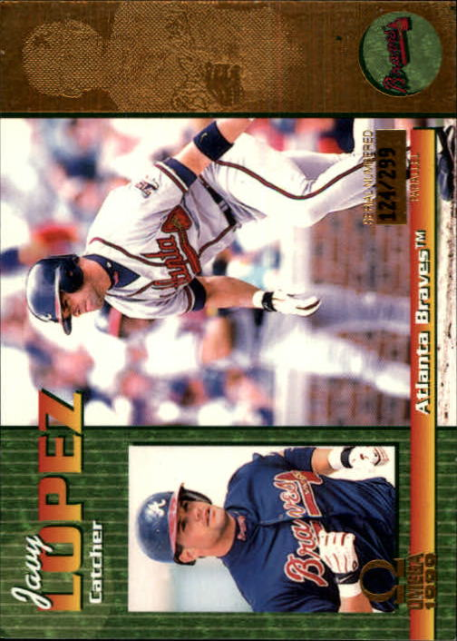 1999 Pacific Omega Gold #25 Javy Lopez