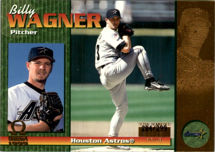 1999 Pacific Omega Gold #109 Billy Wagner