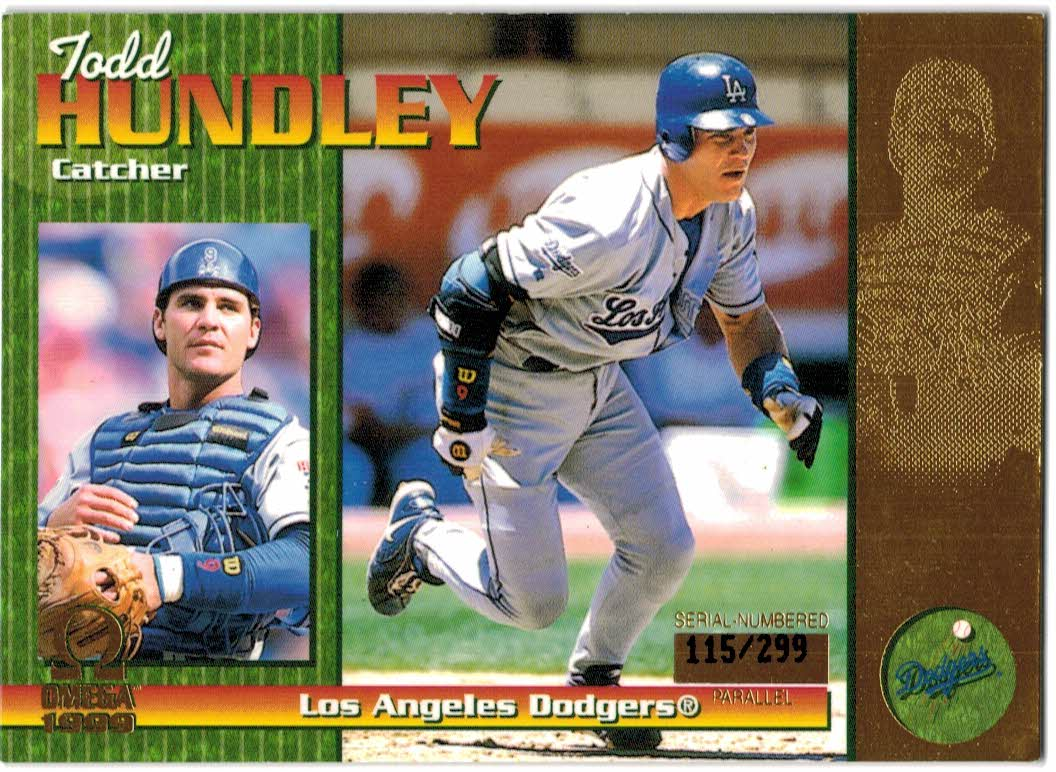 1999 Pacific Omega Gold #120 Todd Hundley
