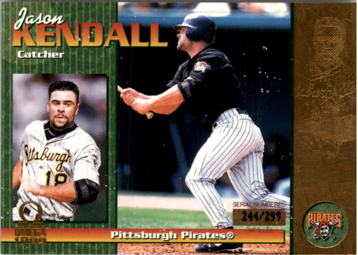 1999 Pacific Omega Gold #187 Jason Kendall