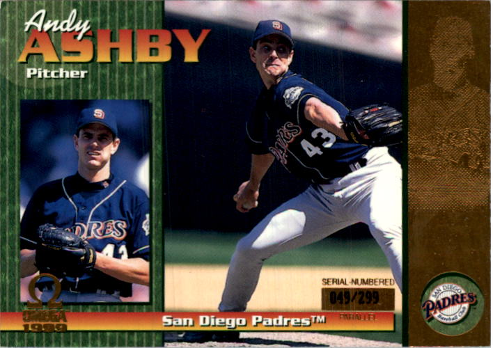 1999 Pacific Omega Gold #200 Andy Ashby