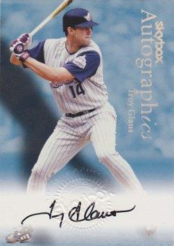1999 SkyBox Premium Autographics #18 Troy Glaus