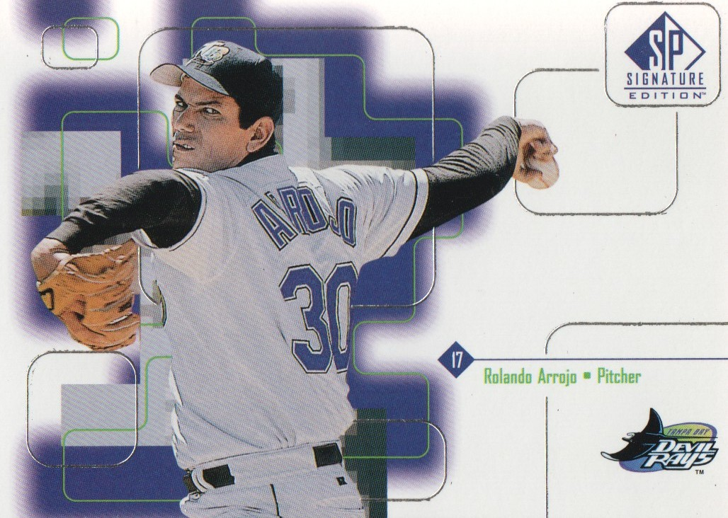 1999 SP Signature #115 Rolando Arrojo