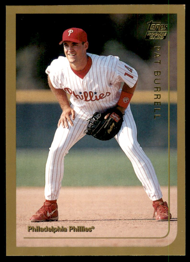 1999 Topps Traded Autographs #T44 Pat Burrell