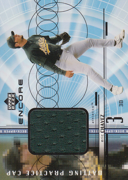 1999 Upper Deck Encore Batting Practice Caps #CEC Eric Chavez