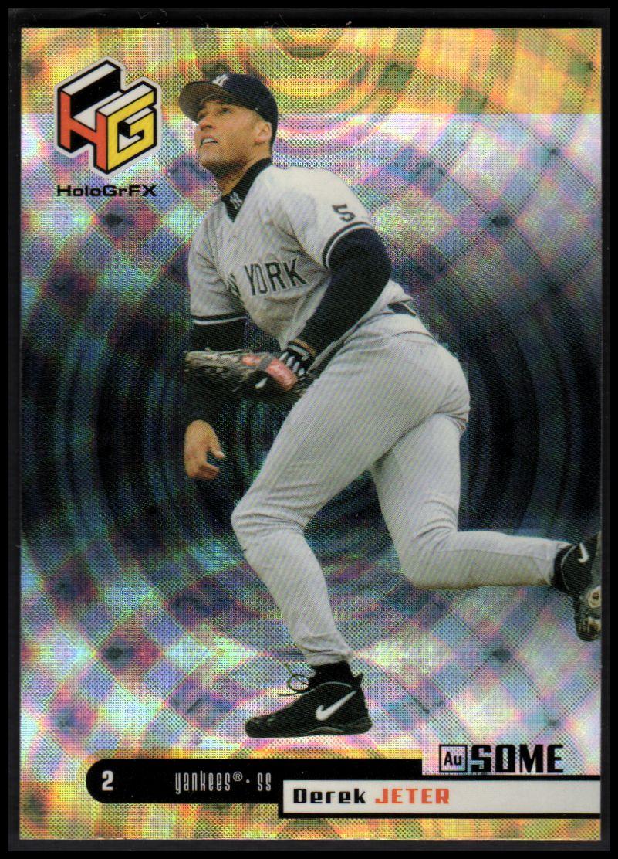 1999 Upper Deck HoloGrFX AuSOME #38 Derek Jeter