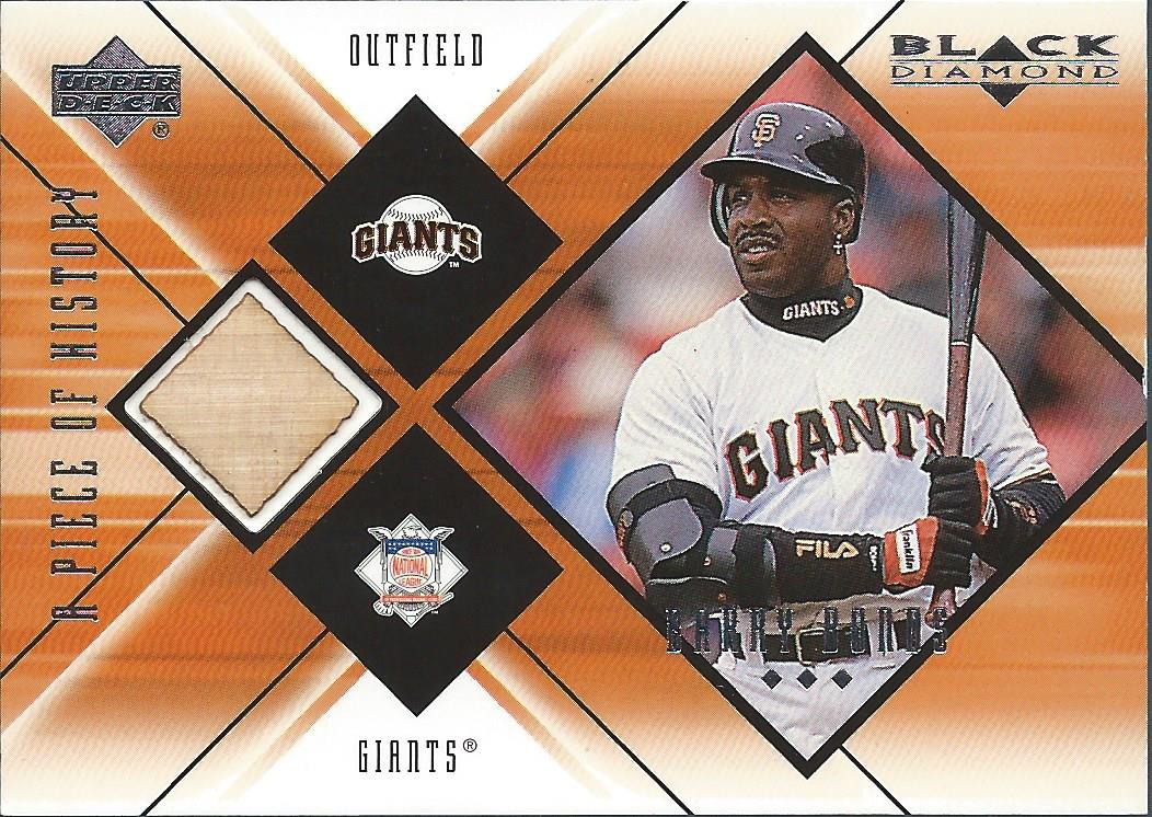 2000 Black Diamond A Piece of History #BB Barry Bonds