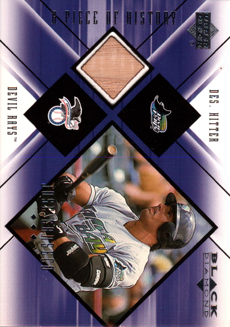 2000 Black Diamond A Piece of History #JC Jose Canseco
