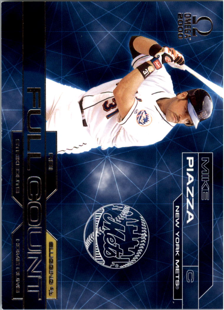 2000 Pacific Omega Full Count #25 Mike Piazza