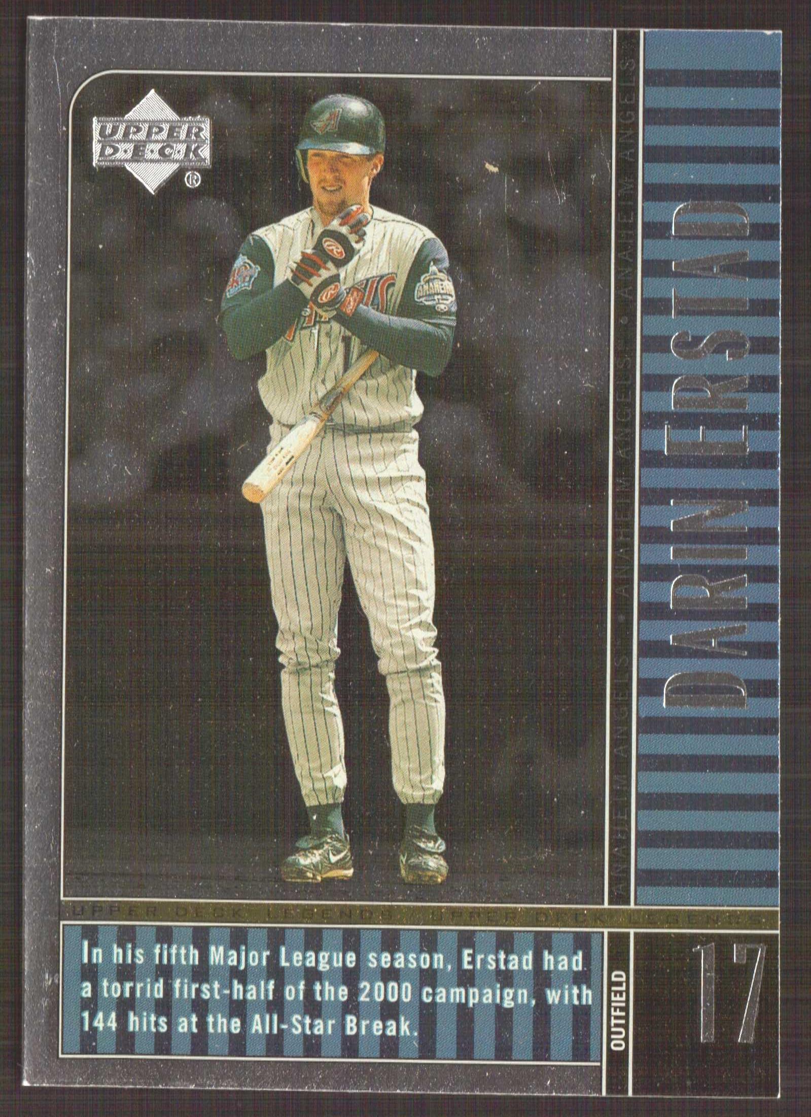 2000 Upper Deck Legends #1 Darin Erstad