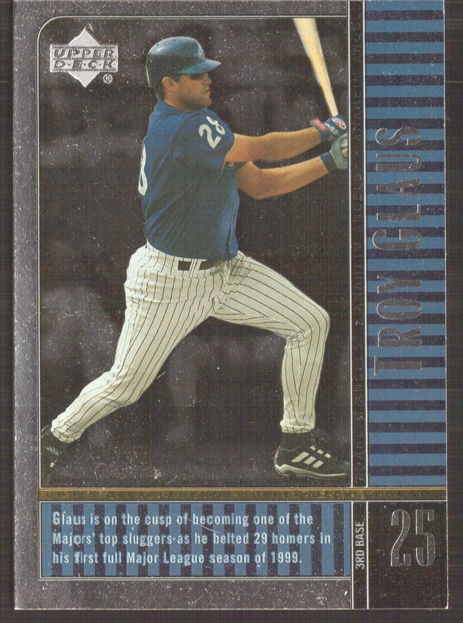2000 Upper Deck Legends #2 Troy Glaus