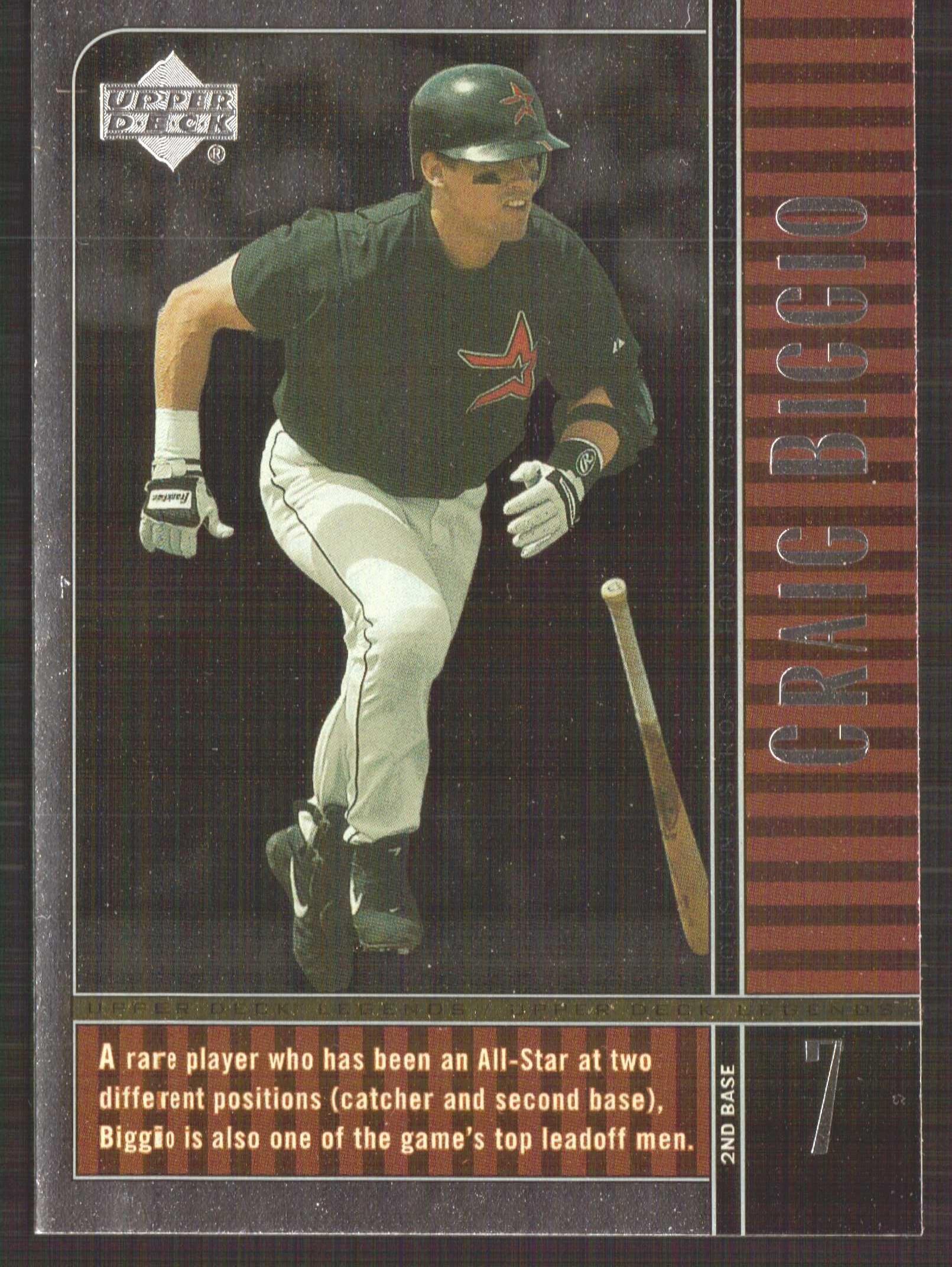 2000 Upper Deck Legends #4 Craig Biggio