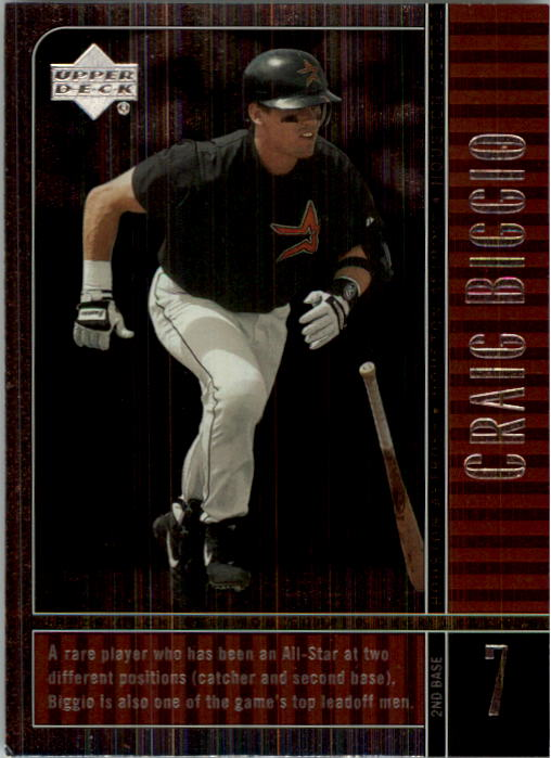 2000 Upper Deck Legends #4 Craig Biggio