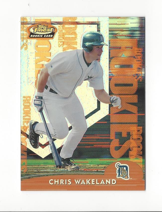 2000 Finest Refractors #255 Chris Wakeland