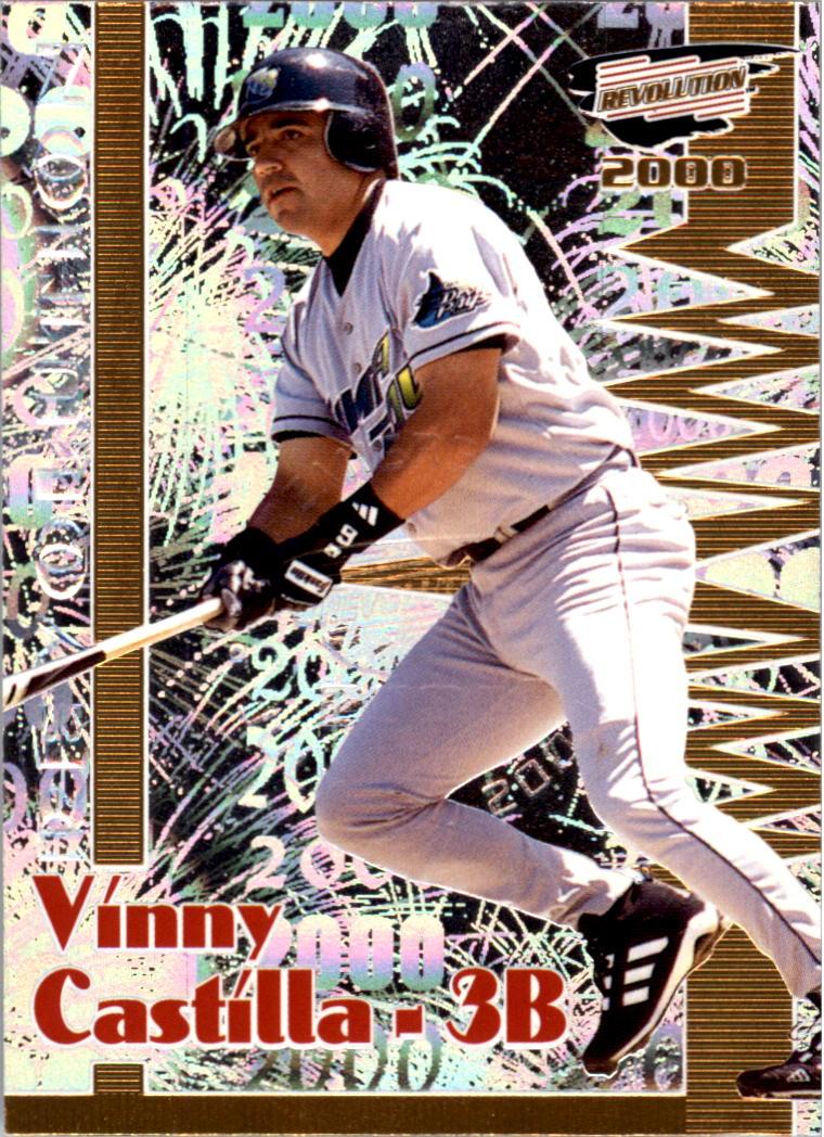 2000 Revolution Premiere Date #138 Vinny Castilla