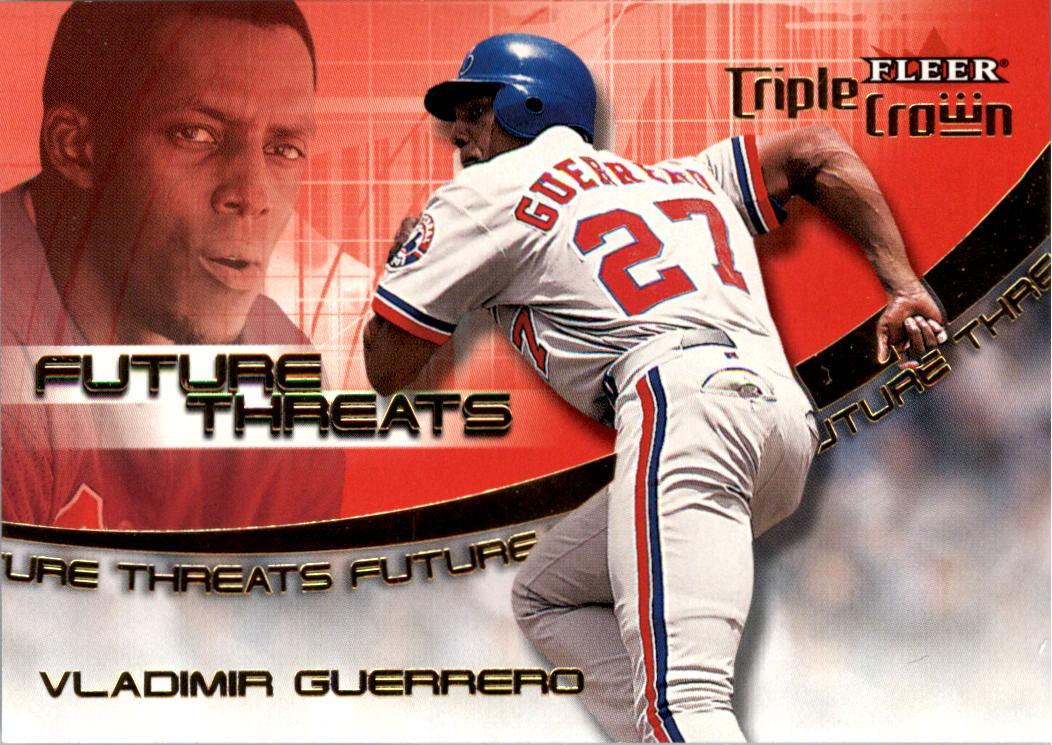 2001 Fleer Triple Crown Future Threats #5 Vladimir Guerrero
